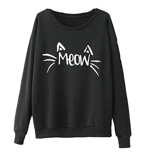 Partiss Damen reichliches Katze Logo T-Shirt Hoodie, s,black Partiss http://www.amazon.de/dp/B00U5L7XMC/ref=cm_sw_r_pi_dp_YCXTvb179FCF6