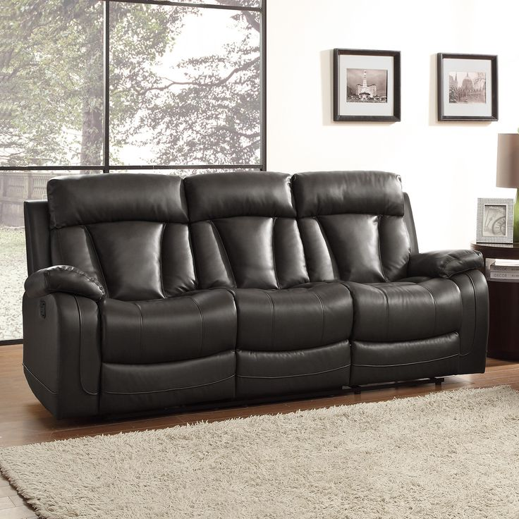 Sofas For Sale Ralston Bonded Leather Reclining Sofa