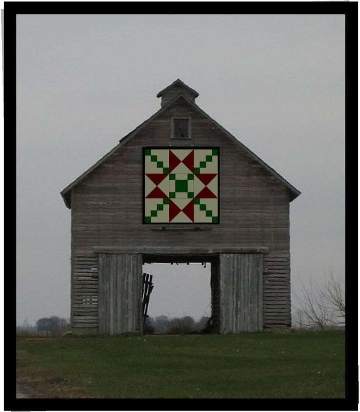 Quilt Barn; part of a Quilt Barn Trail as started in souther Ohio by Donna Sue Groves.