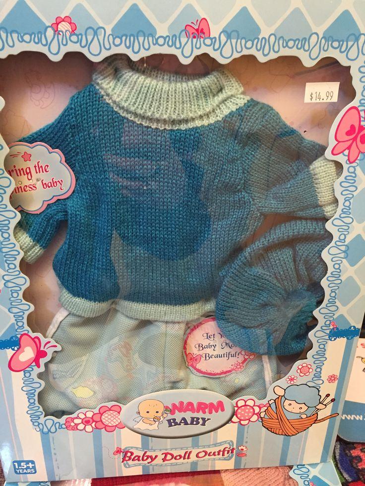 Linge de poupées. 14.99$ Achetez-le info@laboiteasurprisesdenicolas.ca 450-240-0007