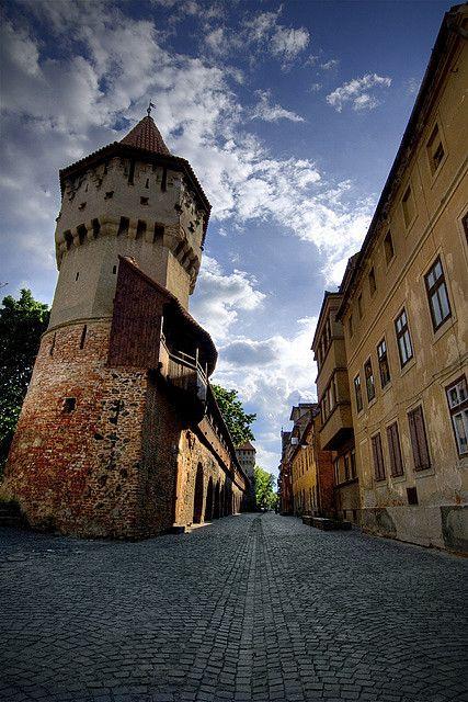 Sibiu street, Transylvania, Romania, www.romaniasfriends.com