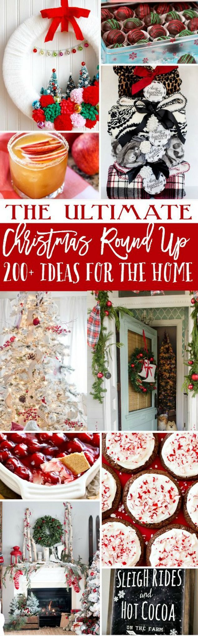 Over 200 of the best Christmas ideas - everything from holiday entertaining, to Christmas decorating and homemade Christmas gifts!