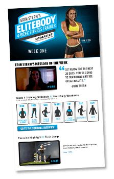 Bb.com Elite body trainer 4 week program with Erin Stern.....best physique in fitness community!
