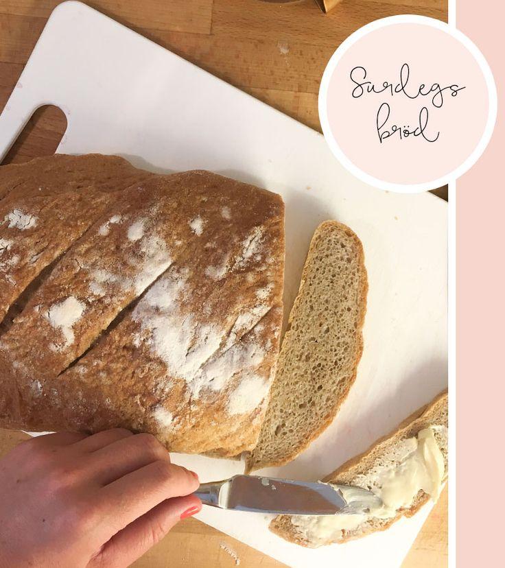 Recept på surdegsbröd med råg