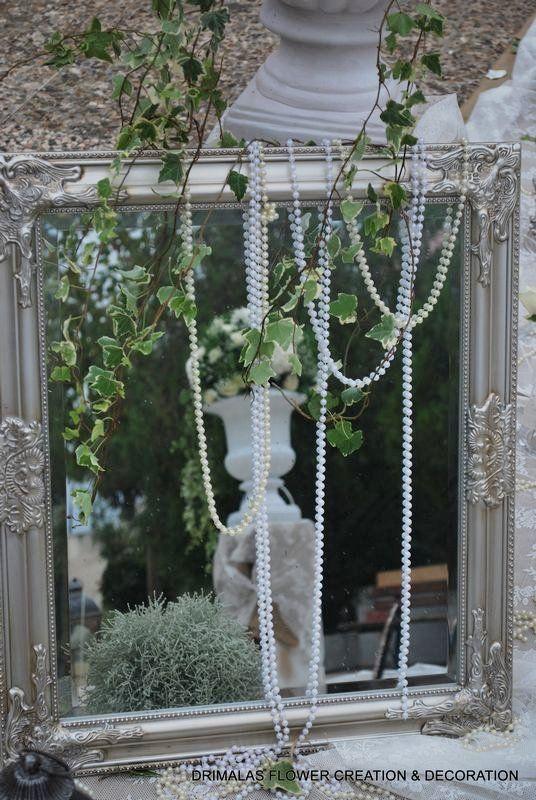 στολισμος γαμου ρομαντικος με αμφορεις