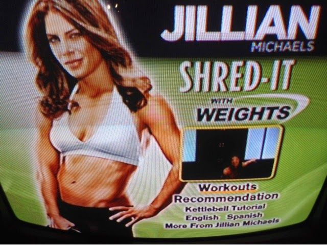 """Jillian Michaels """"Shred it with weights"""" kettlebell dvd review"""