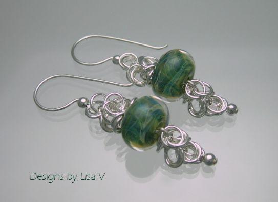 Come creare orecchini fai da te con le perline www.donnaclick.it - Donnaclick