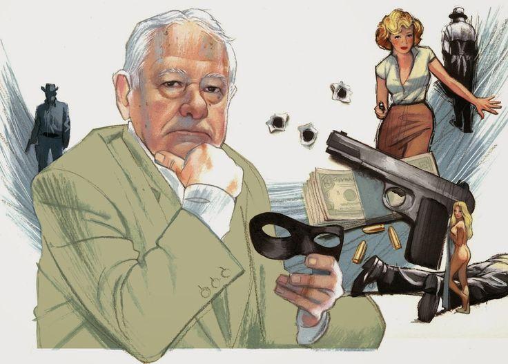 Francisco González Ledesma El escritor, fallecido esta madrugada, es uno de los padres de la novela negra española #FranciscoGonzálezLedesma #fernandovicente