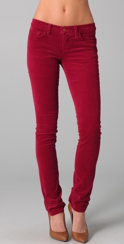 Cords - A must have!Clothing Closets, Colored Pants, Colors Pants, Red Cords, Fall Colors, Fall Winte Style, J Brand, Fall 2011, Brand Cords
