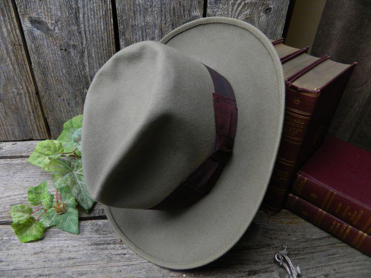 Vintage Dobbs fedora hat E2rNK5tg