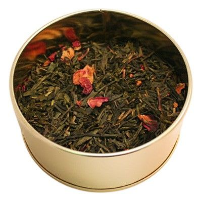 Serenitea - A softly aromatic blend with notes of jasmine and rose, this tea will bring you peace and calm.  We've combined white peony, jasmince pearls, jasmine leaf with just a few rose petals resulting in the perfect companion for the summer novel. (http://shop.steepedandinfused.com/serenitea/)