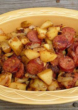 Easy Kielbasa and Potatoes Recipe