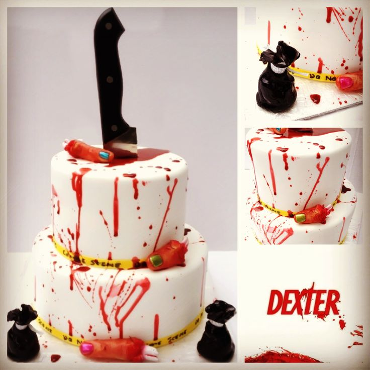 Dexter Birthday Cake