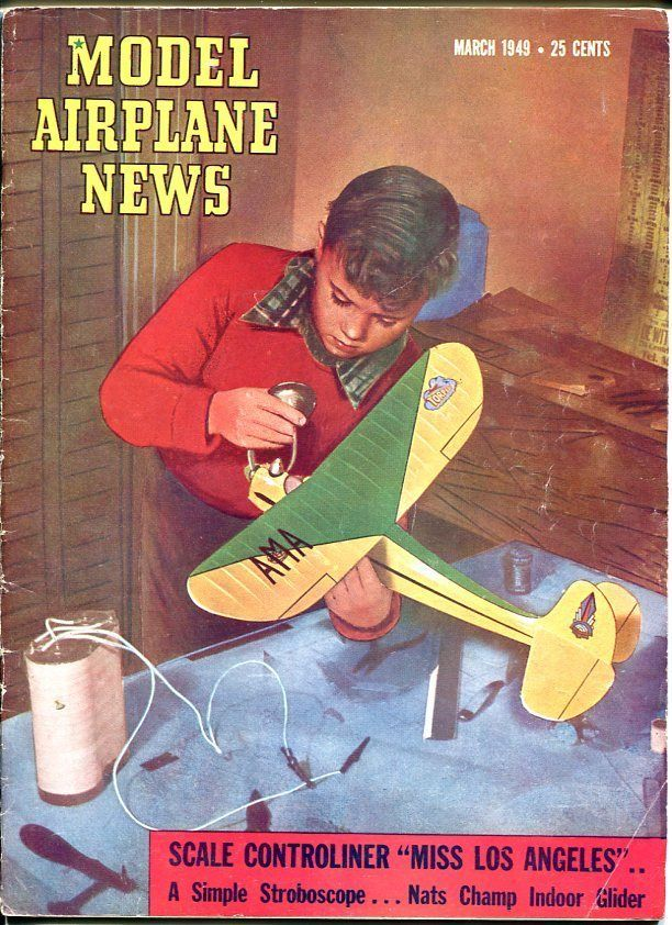 Model Airplane News March 1949.