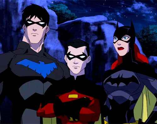 Nightwing, Robin, Batgirl ~ Young Justice