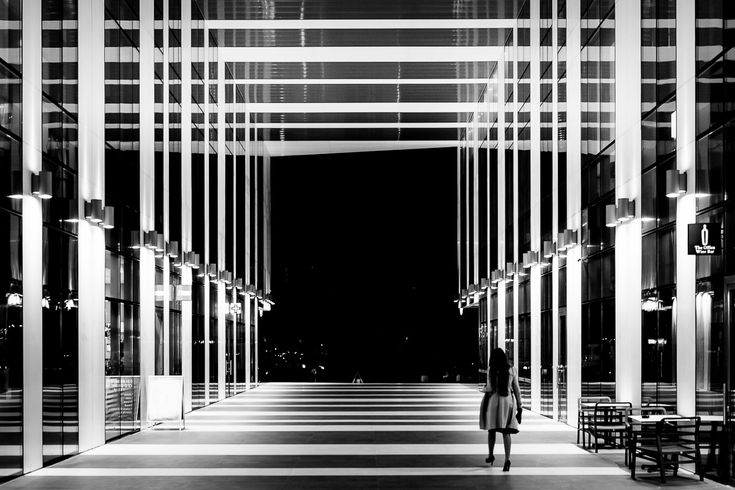 Strangers in the Dark XXIV. Click for an original, limited edition, signed, fine art print on Hahnemühle high quality paper. #fineart #print #deco #photography#monochrome #urban #city #architecture #urbex#exploration #travel #pierrepichot