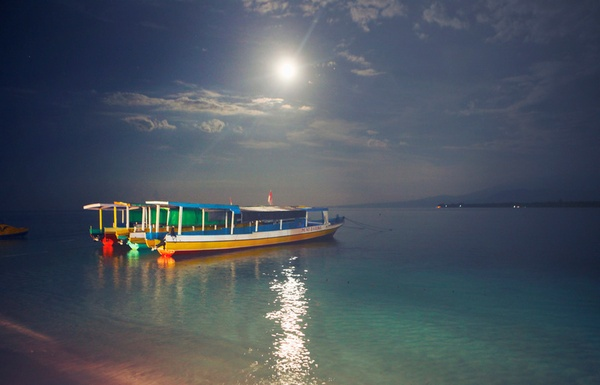 Gili Islands at night