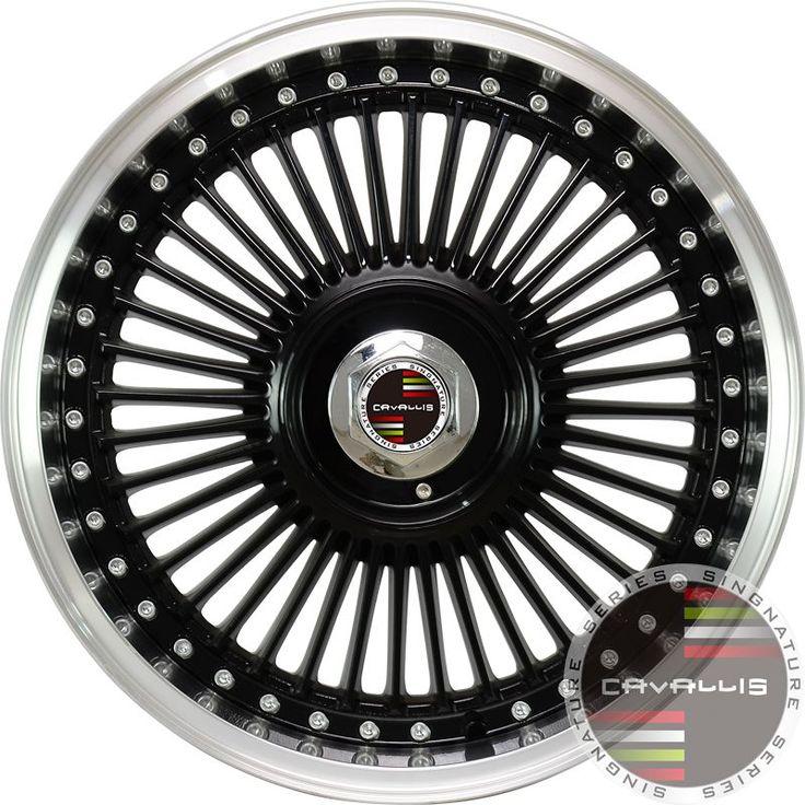 17 Inch Fits CAVALLIS Vintage Alloy Wheel Rim  15 17