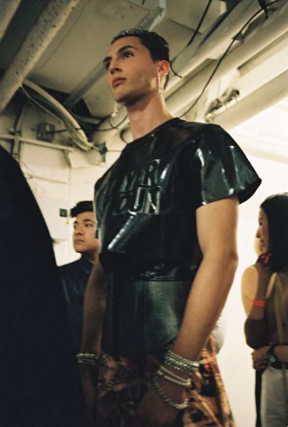 Meet the fashion graduate subverting lad culture