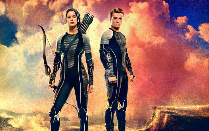 The Hunger Games Catching Fire Katniss And Peeta Poster Background 1 HD Wallpapers