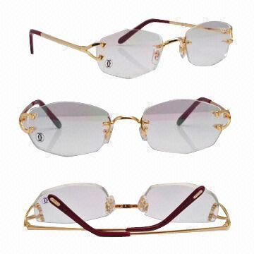 three piece wire frame glasses wire frame rimless eyeglasses gold and silver models available stuff to buy pinterest wire eyeglasses and models