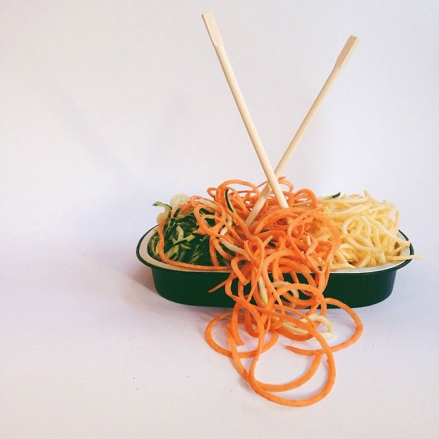 Our produce department is now making #spiralizedvegetables, allowing you to treat veggies like noodles. Eat up! #foodiefind #vegforlife