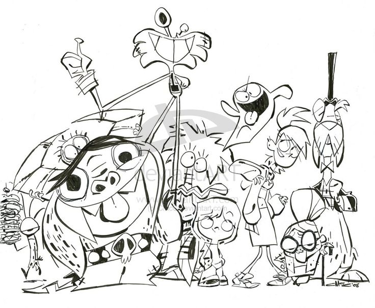 Foster's Home for Imaginary Friends is copyright of Craig McCracken and Cartoon Network.