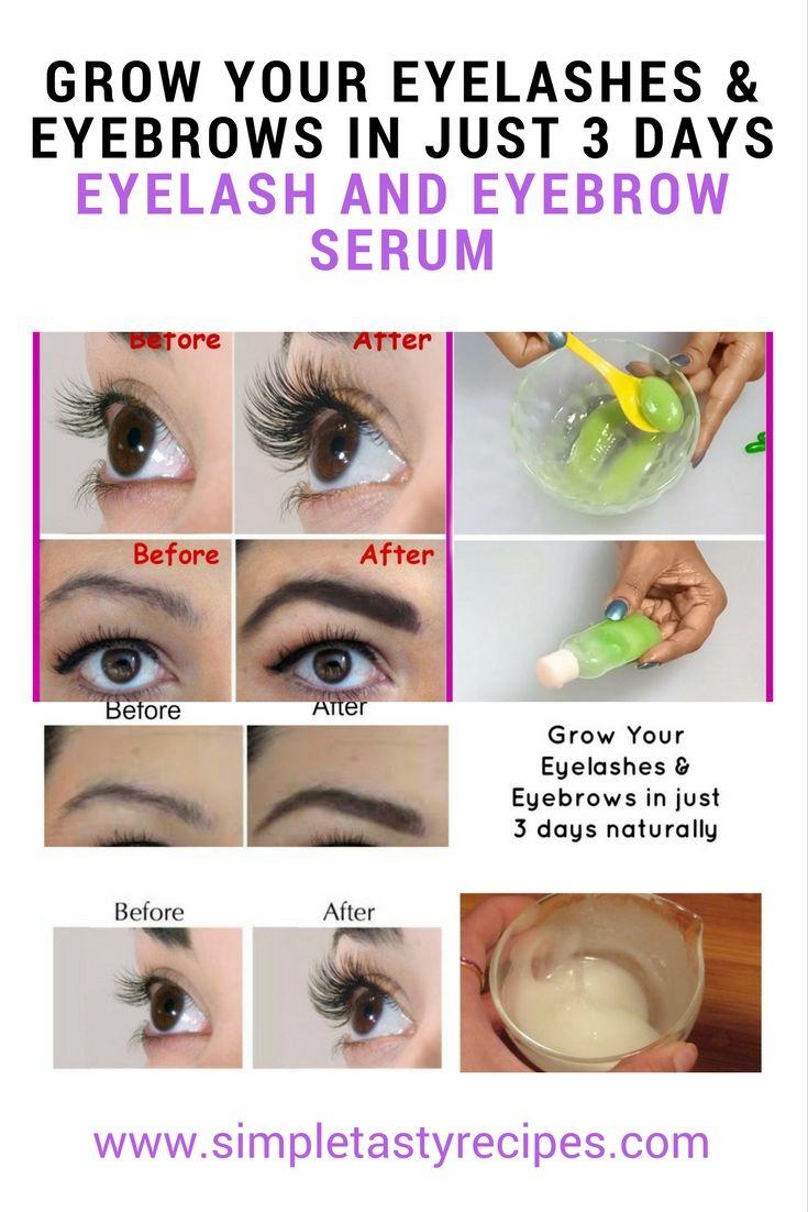 Grow your eyelashes & eyebrows in just 3 days Eyelash and Eyebrow serum