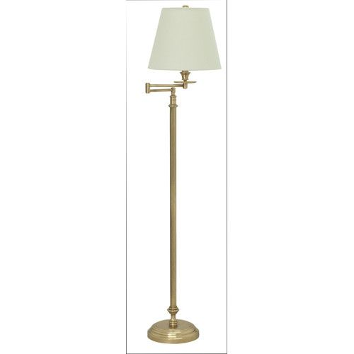 bennington weathered brass one light floor lamp house of troy shaded floor lamps lamps