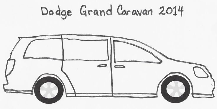 dodge grand caravan coloring page coloring pages With dodge grand caravan