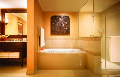 Executive Suite Bath at JW Marriott San Antonio #jwsanantonio #luxury #bathroom #hotel #texas