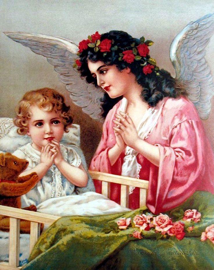 картинки с изображением ангела хранителя стенах множество семейных