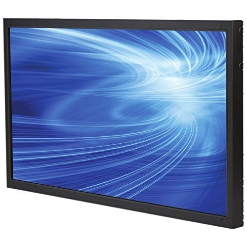 "Elo Touch E220625 3243L 32"" LCD FHD LED Open-Frame Non Touch Monitor, VGA/HDMI Video Interface, Clear Glass, Gray. Black color. Active matrix TFT LCD. 31.5"" diagonal size. 16:9 aspect ratio. 1920 x 1080 native resolution."