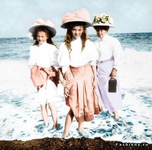 Дети семьи последнего русского императора Николая II (продолжение) / царская семья
