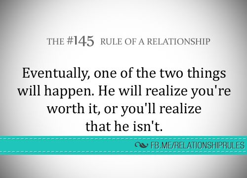 Eventually, one of the two things will happen..