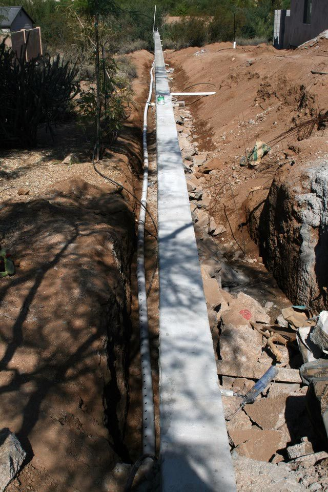 1000 Ideas About French Drain System On Pinterest Yard
