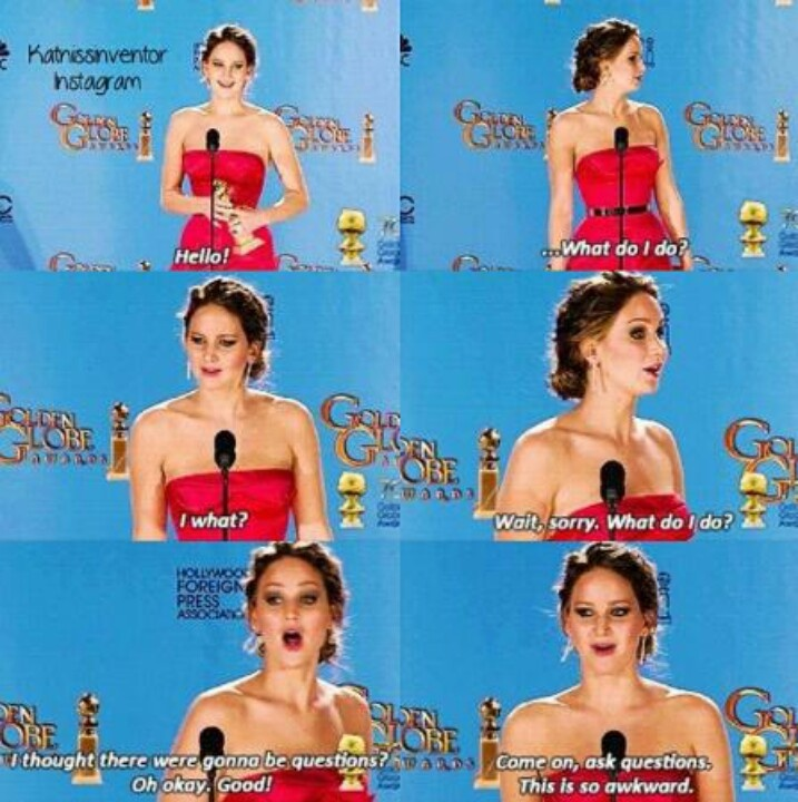 Jennifer Lawrence...lol