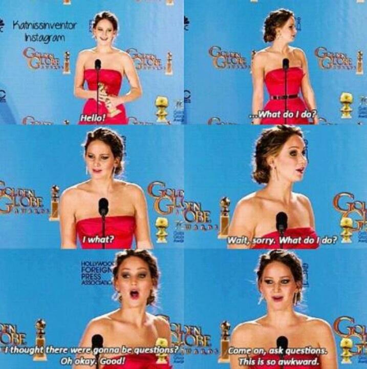 Jennifer Lawrence...lol