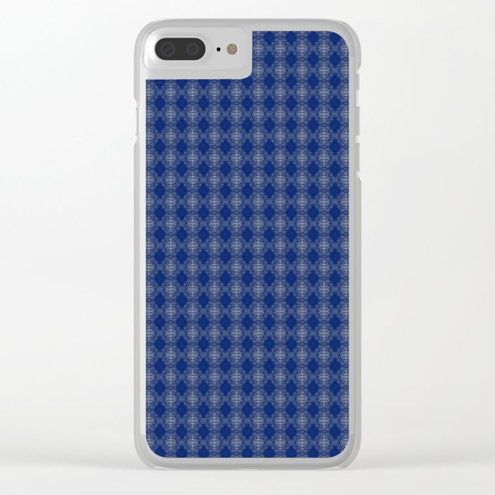 Shop clear iPhone cases featuring brilliant patterns and designs on frosted, transparent shells - created by the world's best independent artists.blue, white, abstract, grid, pattern, design, computer generated, digital, society6, gifts, shopping, buy, sell, unique #artwork #abstract #darkblue #society6