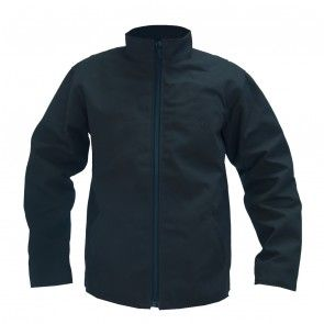 Black (Lite) Collared Canvas Jacket