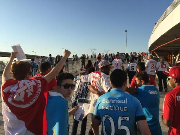 Grêmio x Internacional - Campeonato Brasileiro 2015 - globoesporte.com
