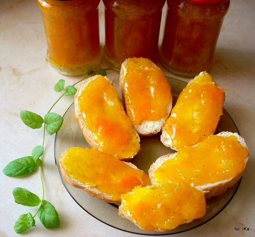 Smaczna Pyza sprawdzone przepisy kulinarne: Dżem dyniowo - jabłkowy