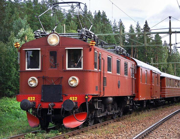 Bild: Dk 432 som museilok i Kolforsen 2006