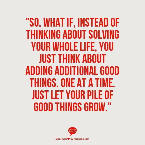let good things grow.