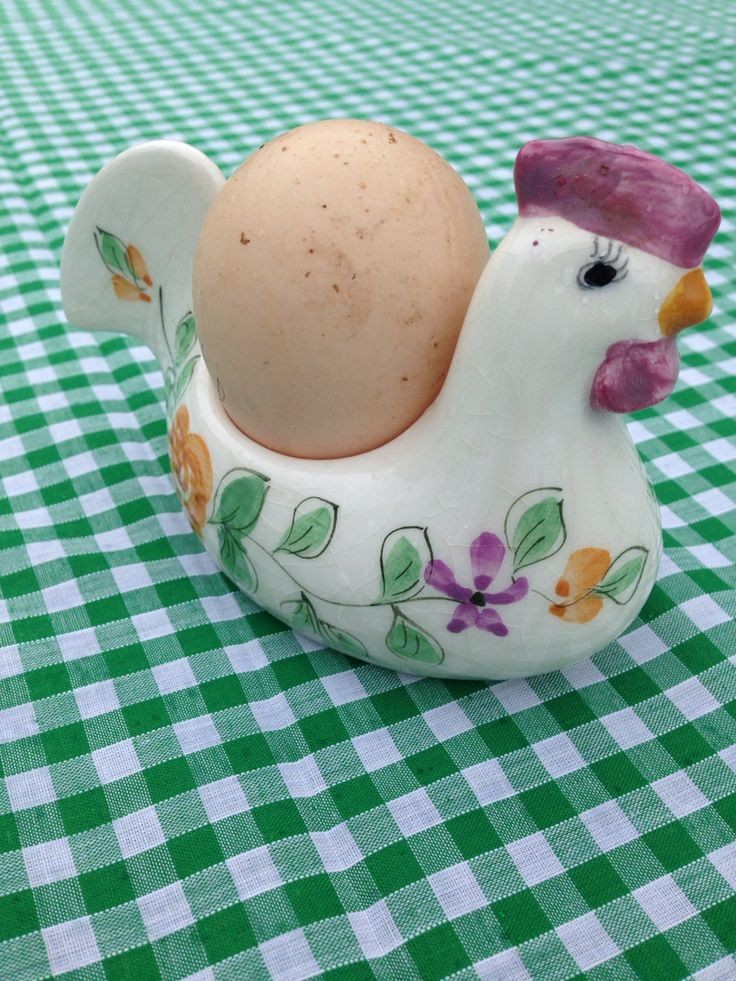 Egg cup from charity shop. http://onebasket.co.uk/
