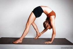 pinkelli napaluch on yogaholic  yoga poses advanced