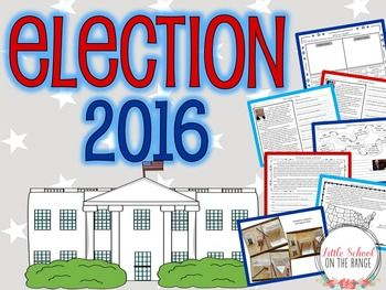 Election 2016 BUNDLE: This BUNDLE contains both the complete no-prep unit and the presentation! The unit contains all that you need to teach your students about the 2016 election! It covers both of the current presidential nominees. It also covers the presidential election process.