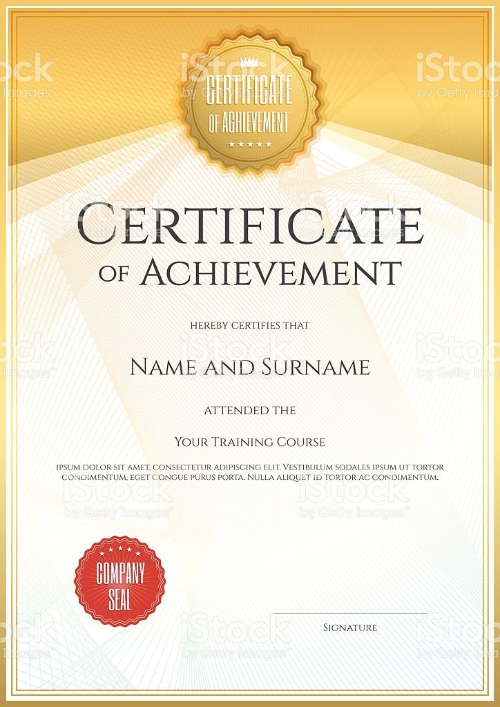 best 25 certificate of achievement template ideas on