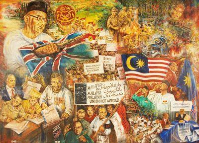 Maembong's Art Gallery: History of Malaysia 1940-2011, Segment #2 (Persekutuan Tahan Melayu, 1945-1949)