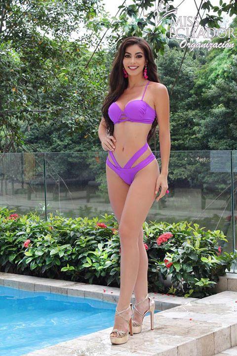c6313b0644ad Candidata a Miss Ecuador 2018 | Foto oficial en traje de baño ...